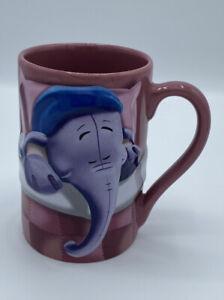 Disney Store Exclusive Winnie the Pooh's Roo & Heffalump Sleepy - 3D Purple Mug