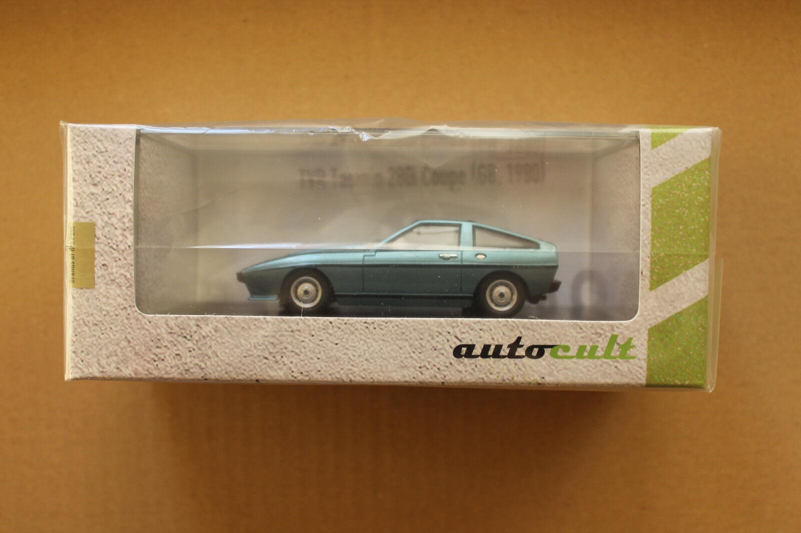 Autocult 1 43  02010 tvr tasmin coupé - blau metallic von 1980