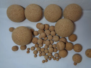 Cork 30 Natural Universal 10 Pop Accessories Fishing Coarse Balls 70mm Floating gdq4nd1