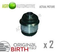2 x BIRTH REAR AXLE CONTROL ARM WISHBONE BUSH PAIR OE QUALITY REPLACE 2325