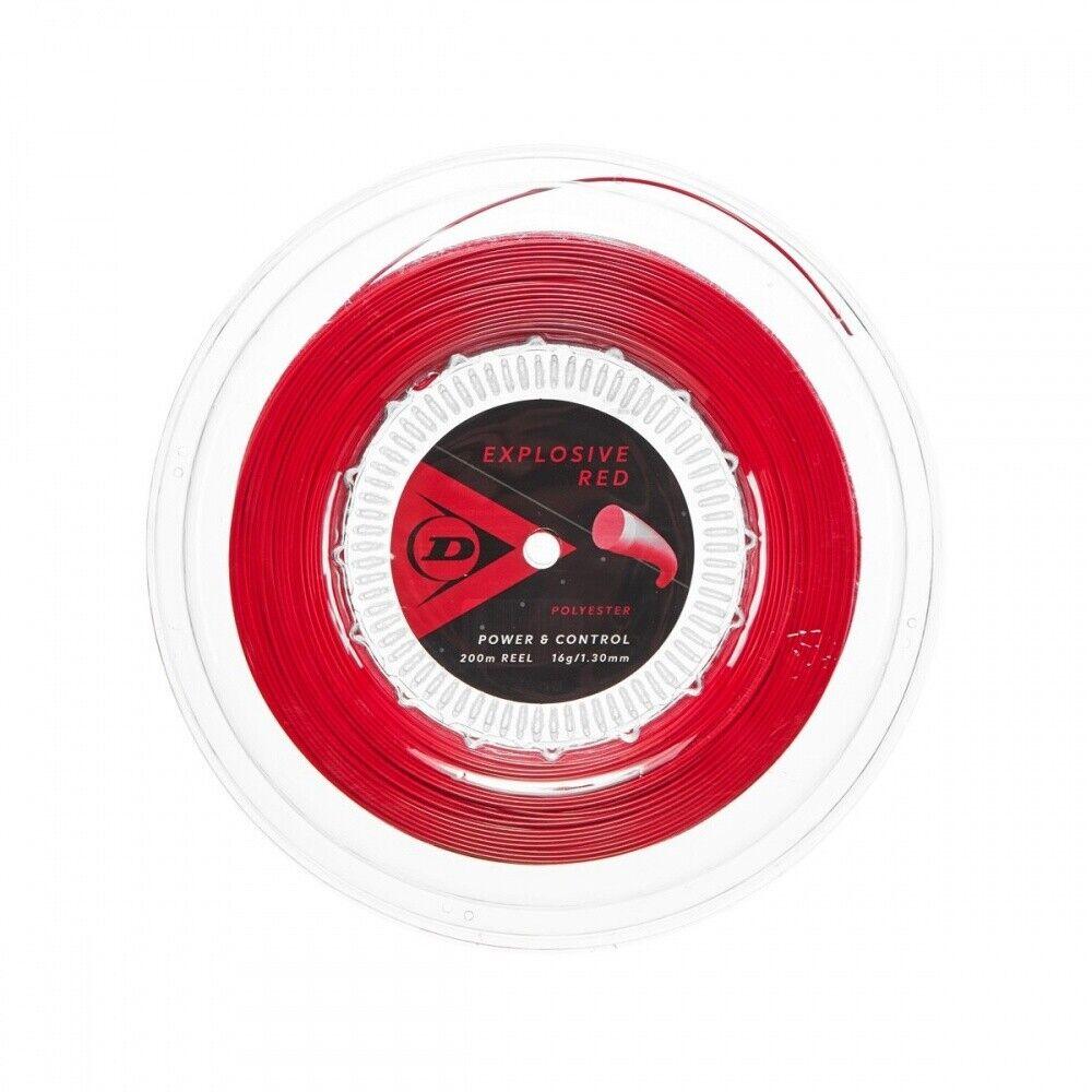 Dunlop Explosive Red 200m Saitenrolle NEU UVP
