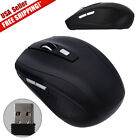 2.4Ghz Mini Wireless Cordless Optical Mouse Mice & USB Receiver For PC Laptop