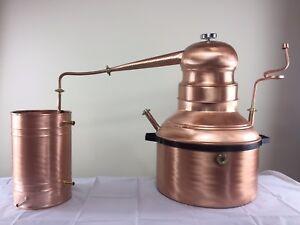 Alambicco Distillatore 23 Litri Modello A Serpentina - Bagnomaria