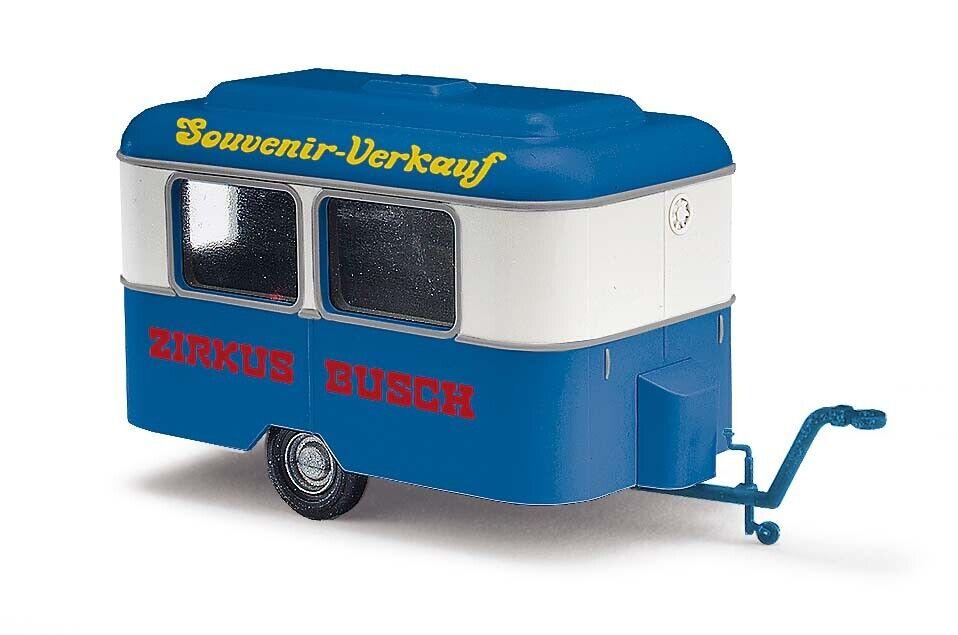 Neu Busch 51702-1//87 Blau H0 Nagetusch Wohnwagen