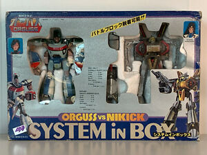 ORGUSS-vs-NIKICK-System-In-Box-Japan-Anime-System-Vintage-DRIFANDO-TAKATOKU