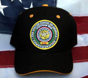 3f6892906d6 VIETNAM WAR VETERAN CAP HAT US MARINES ARMY NAVY AIR FORCE PIN UP ...