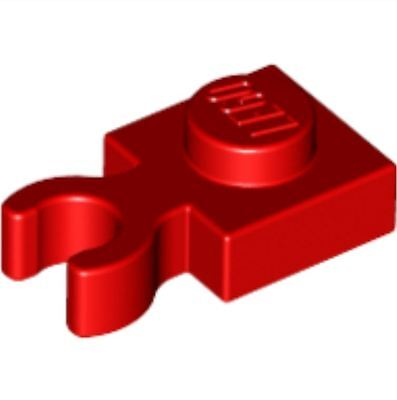 /_Bright Red Holder Lot of 25 60897 4588003/_LEGO Plate 1x1 W
