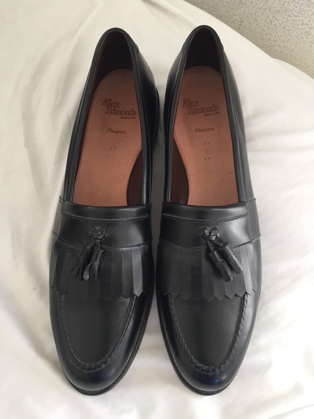 Allen Edmonds nouveauport Tassel Mocassin 14 AAA  325 MADE IN THE USA