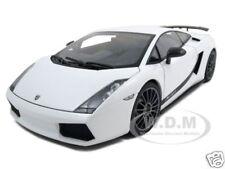 LAMBORGHINI GALLARDO SUPERLEGGERA WHITE 1:18 DIECAST MODEL CAR BY AUTOART 74585