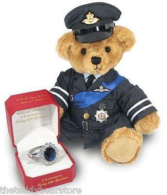 2011 PRINCE WILLIAM TEDDY BEAR RAF Limited Edition Sold Out Worldwide - N0 31!!!