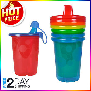 The First Years Take Toss Spill-Proof Sippy Cups 4 Count 10 Ounce