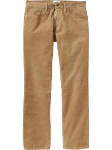 Pantalone uomo velluto a coste classico caldo 46 48 50 52 54 56 58 60 62 marrone