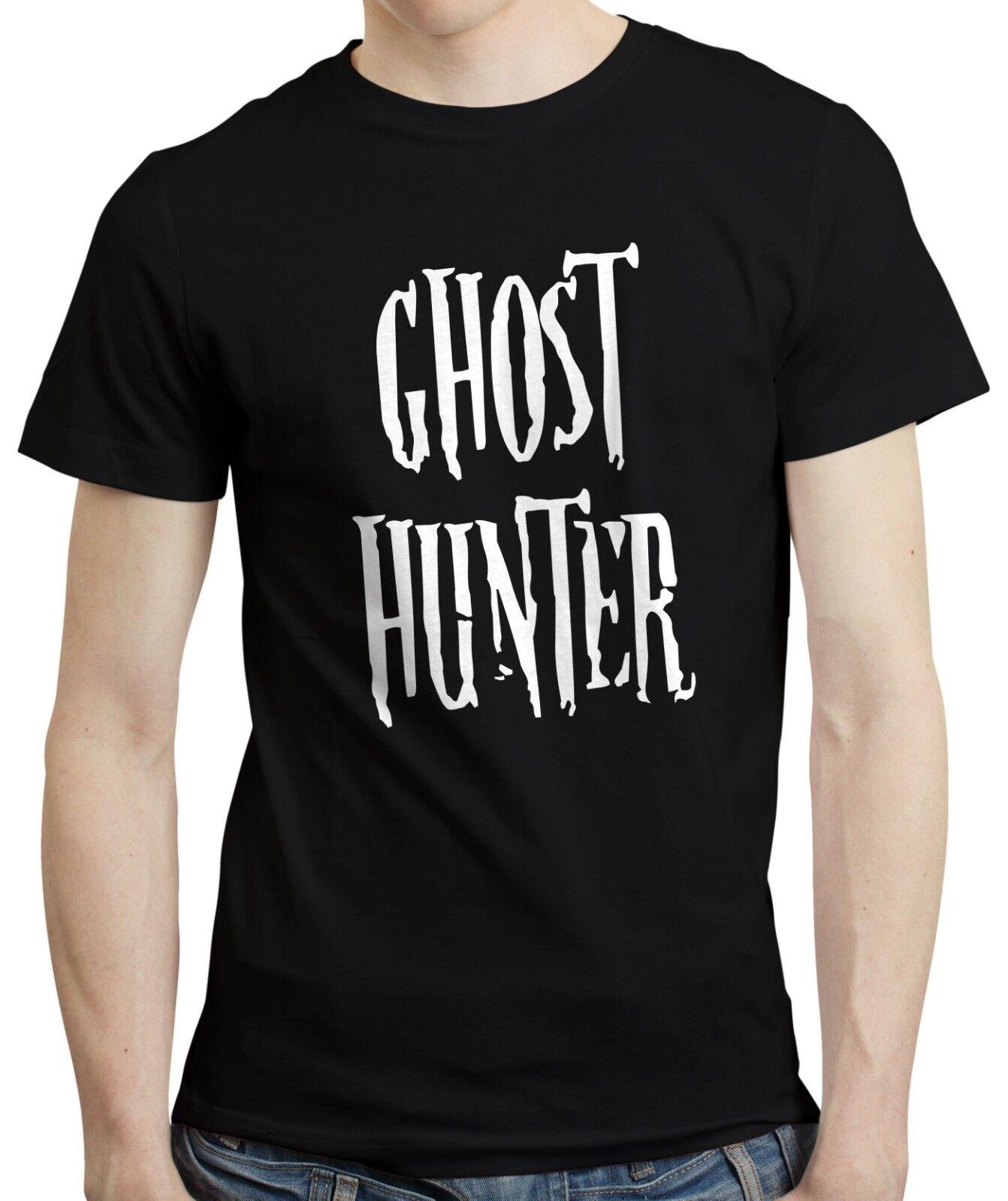 Ghost Hunter-Paranormal Investigator T-shirt Haunted Halloween Cadeau T-shirt Investigator NEUF da59f5
