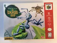A Bug's Life - Nintendo 64 - Replacement Case - No Game