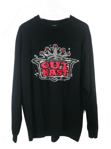 Vintage Outkast Stankonia Long Sleeve Black Rap T-