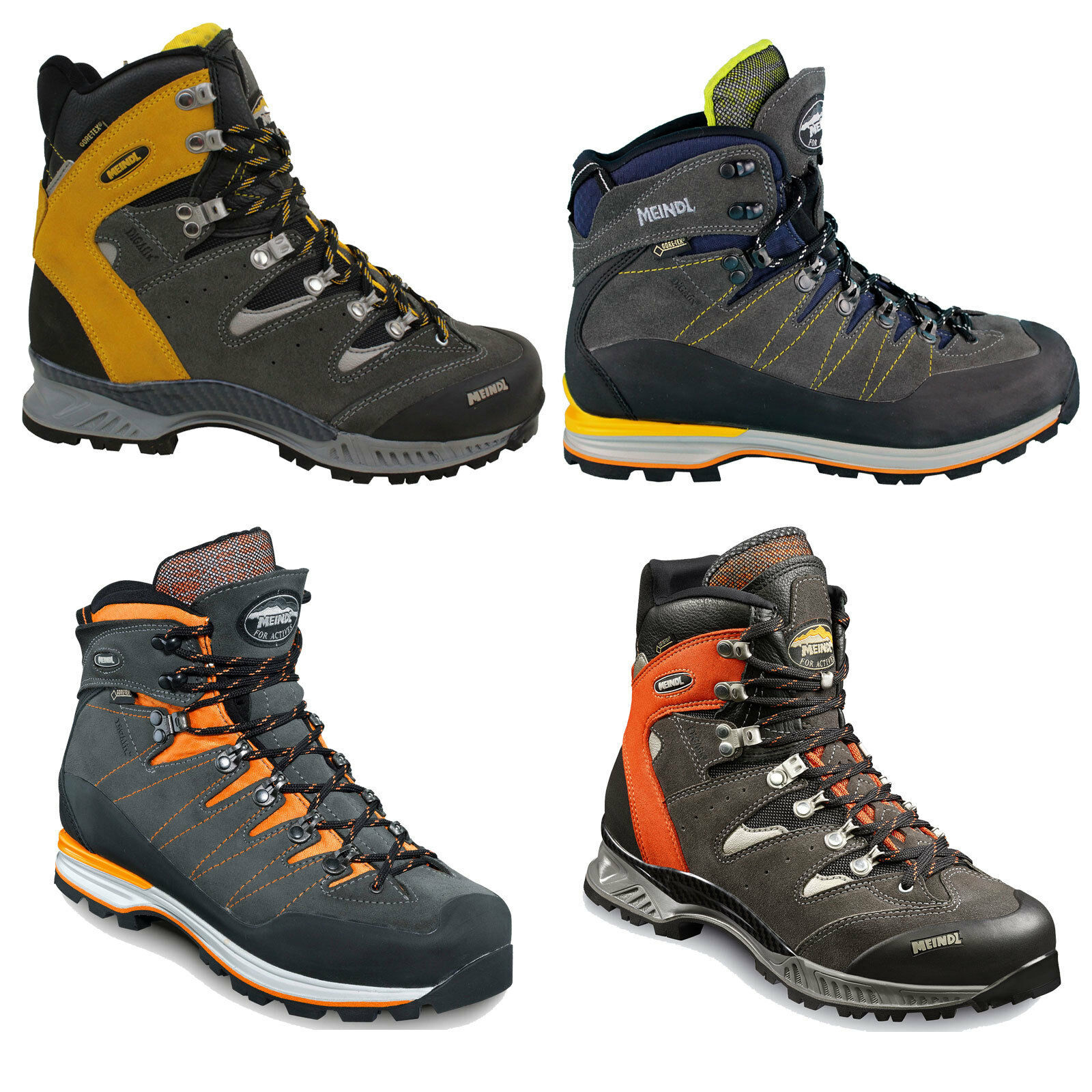 Meindl Air Revolution Men's Hiking Boots Trekking shoes shoes Lace-Up shoes New