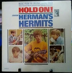 HERMAN'S HERMITS Hold On! Album Released 1966 Vinyl Collection USA