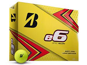 Bridgestone-e6-Golf-Balls-1-Dozen-Yellow-Mens