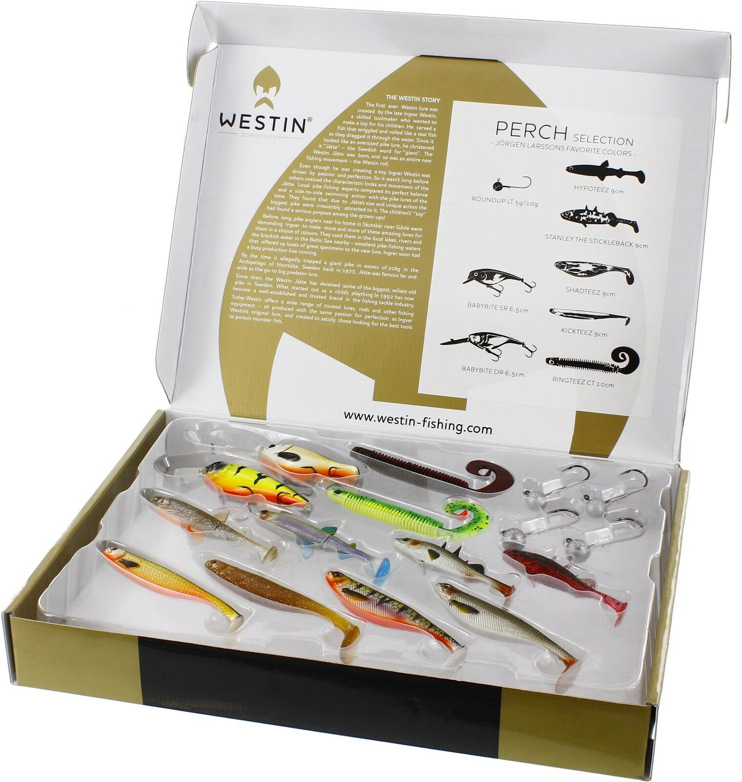 Westin European Perch Selection - Ideal Christmas present Lure, Predator, Pike