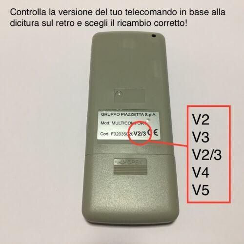 TELECOMANDO STUFE PIAZZETTA LCD V2-V3-V4-V5