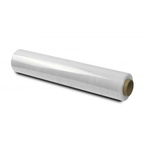 1 X STRONG ROLL-CLEAR PALLET STRETCH SHRINK WRAP 400mm x 200m