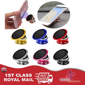 Universal-Mobile-Bracket-360-Magnetic-Rotation-Phone-Holder-Dashboard-GPS-Mount