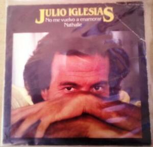 """Julio Iglesias – No Me Vuelvo A Enamorar single 7"""" Promo"""