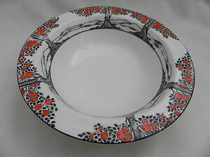 Crown-Ducal-ORANGE-TREE-ROUND-FRUIT-DESSERT-DISH-BOWL-14-5cm-x-3-5cm-No-7