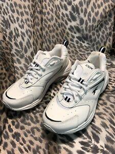 2722343f031170 Reebok DMX Max RB 805 KTS Leather Sneaker Walking Shoes White - Size ...