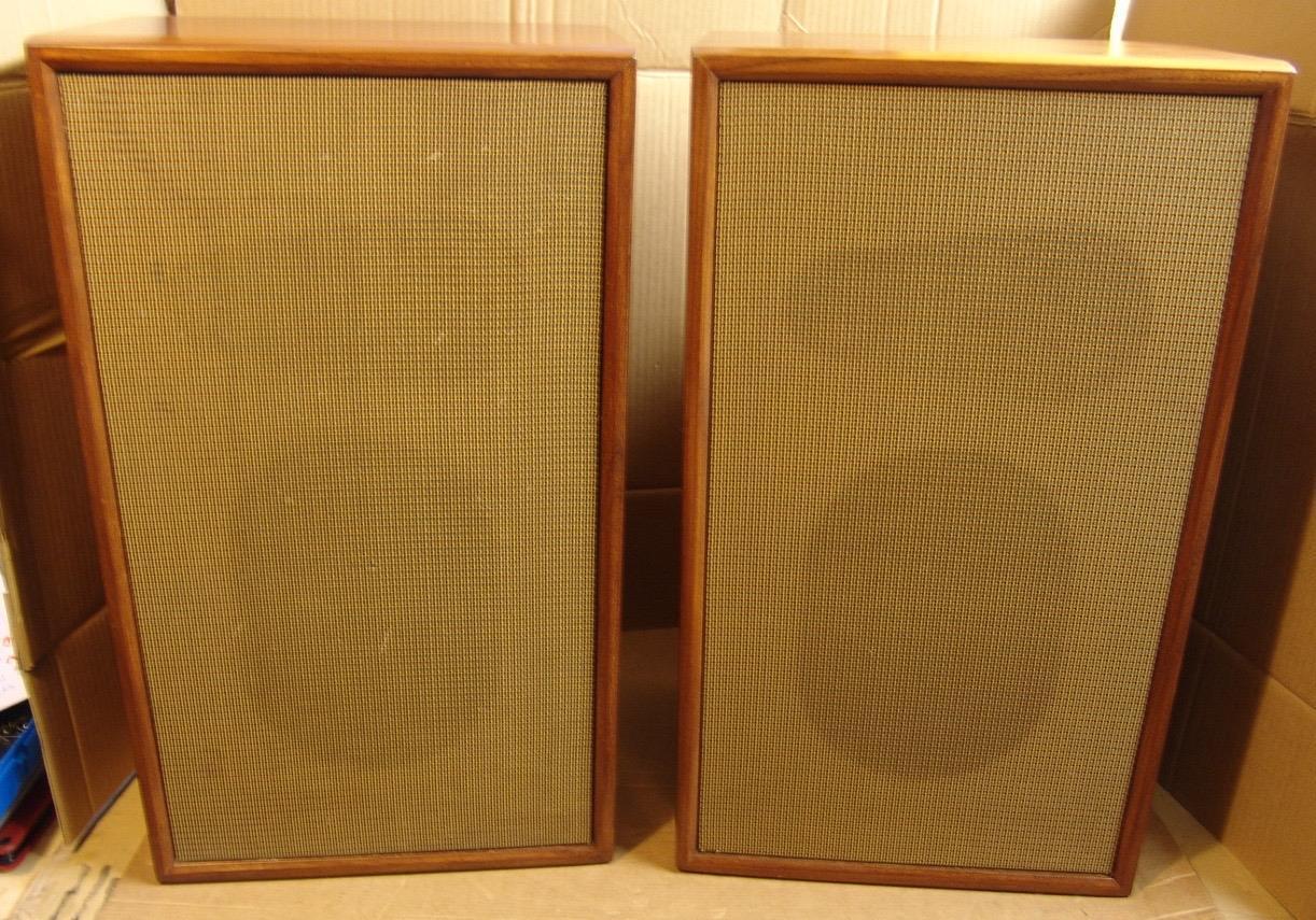 RADFORD monitors using the famous  GOODMANS MAXIM bass mid unit...