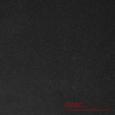 30x135cm Nero Effetto Pelle Scamosciata Di Qualità Adesivo Veicolo