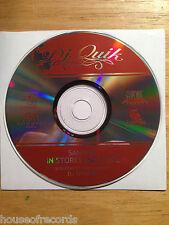 NEW DJ Quik Promo-Only 2002 Sampler CD DJ Spinbad BIN Free Ship RARE Rap Hip-Hop