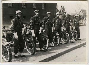 photo ancienne militaire moto motard police gendarmerie d fil vintage snapshot ebay. Black Bedroom Furniture Sets. Home Design Ideas