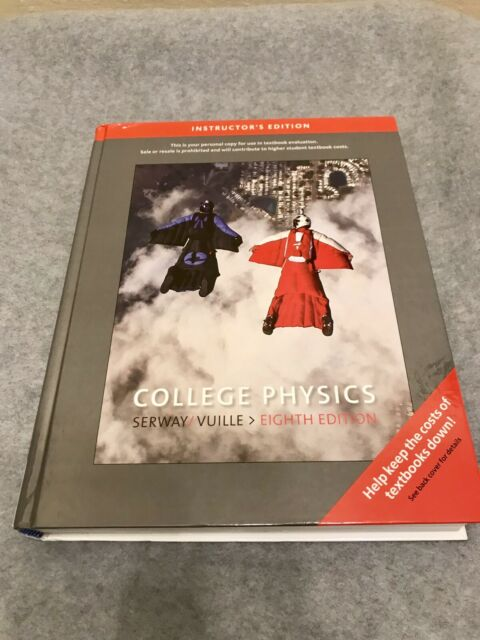 College Physics Instructor S Edition 8th Ed By Raymond A Serway