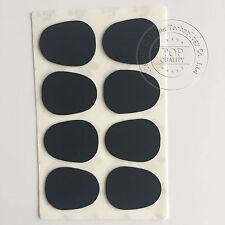 8pcs Alto- Saxophone Mouthpiece Patches Pads Cushions Black 0.5mm