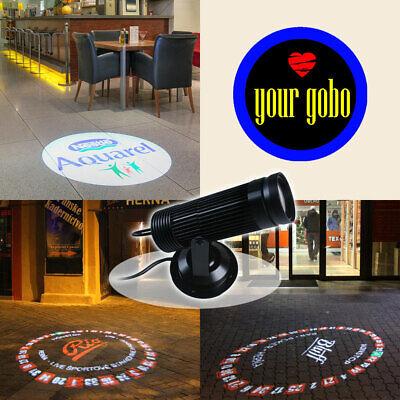 10W LED Static Gobo Advertising Logo Projector Light 1 Single Color Film