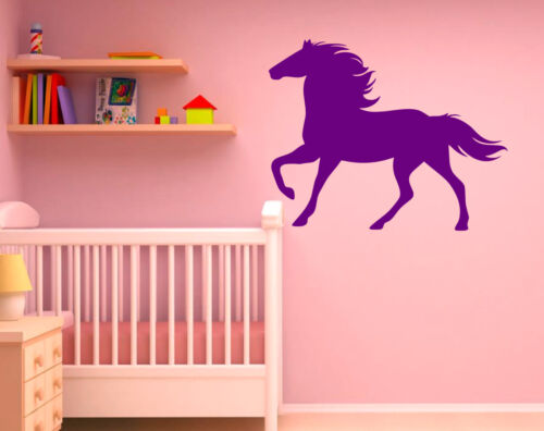 Horse Horse Riding Wall Art Vinyl Graphic Sticker Wallpaper Decal!!Bedroom