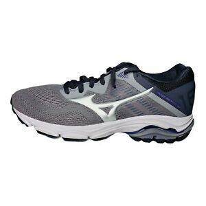 Mizuno Women's Wave Inspire 16 Road Running Shoes Vapor Blue Silver Lace Up 7M