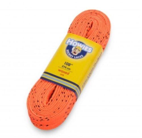 Schnürsenkel gewachst 180-304 cm Howies Laces waxed orange