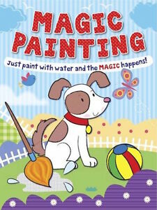 MAGIC-PAINTING-JUST-ADD-WATER-PUPPY-COVER-BRAND-NEW-FREEPOST-UK