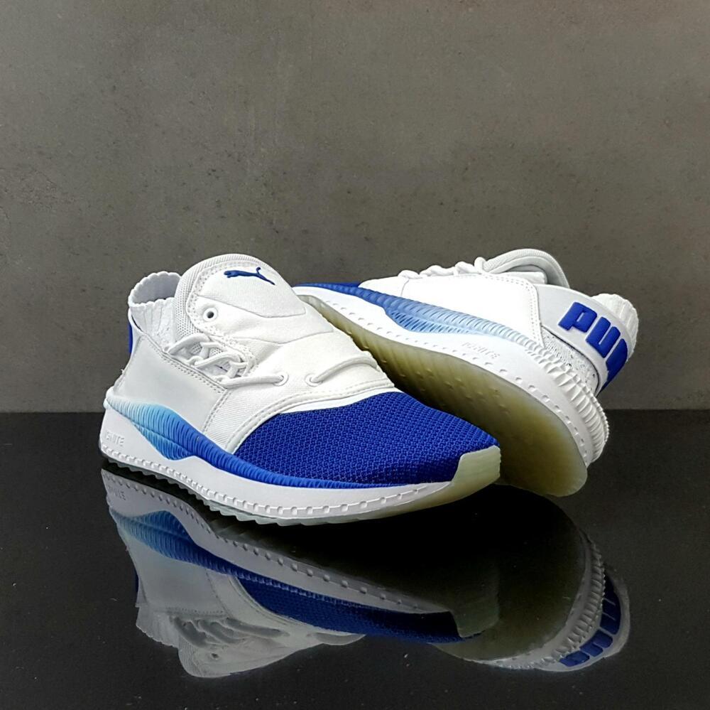New Puma Tsugi Shinsei Nido fonctionnement Training chaussures Casual Bleu-blanc 364936-02