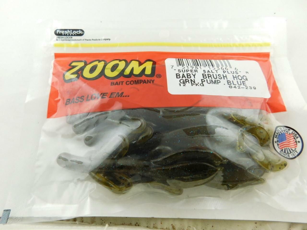Zoom 042-216 Baby Brush Hog Watermelon Green Orange 042216 for sale online