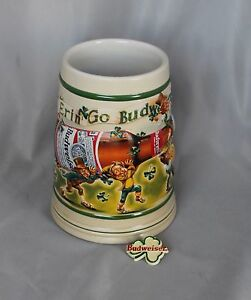 1998-Anheuser-Busch-Budweiser-St-Pat-039-s-Stein-Ceramarte-Brazil-CS332