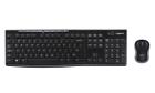 Logitech MK2270 Wireless Keyboard and Mouse Combo - Black (920-008813)