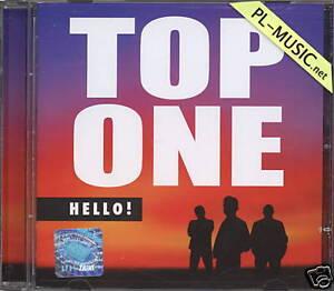 TOP-ONE-HELLO-CD-sealed-rare-disco-polo-dance