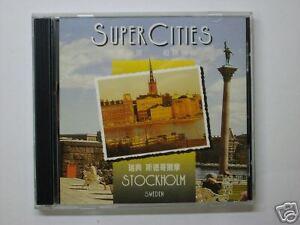 原裝正版-瑞典-斯德哥爾摩VCD