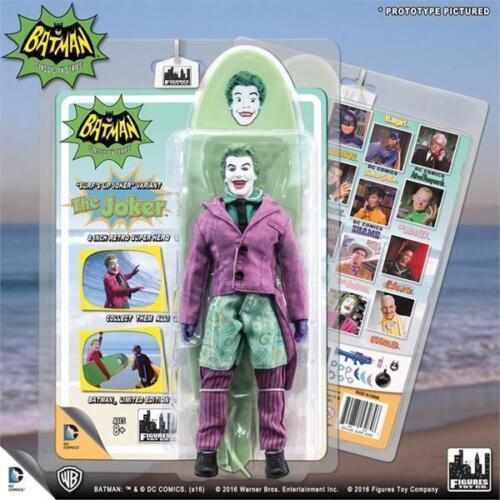 "Surf/'s Up Joker Batman TV Series 1966 retro 8/"" action figure mego style moc"