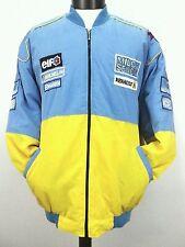 Formula 1 Renault Mild Seven Racing Car Jacket Coat Varsity Blue  XXL
