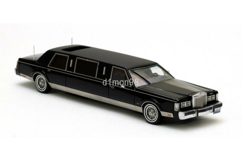 LINCOLN TOWN CAR Formal Limousine 1985 1 43 NEO SCALE MODELS NEO45335