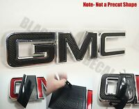07-16 Gmc Sierra Yukon Carbon Fiber Front Grill Emblem Overlay Kit 1500 Decal